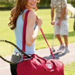 Monogrammed Barrel Duffel Bag
