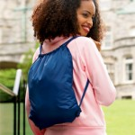 Monogrammed Drawstring Backpack
