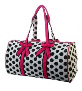 Large Quilted Duffel