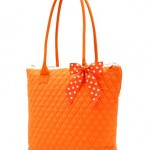 Monogrammed Large Quilted Tote