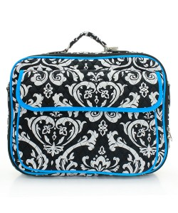 Quilted Damask Laptop Bag